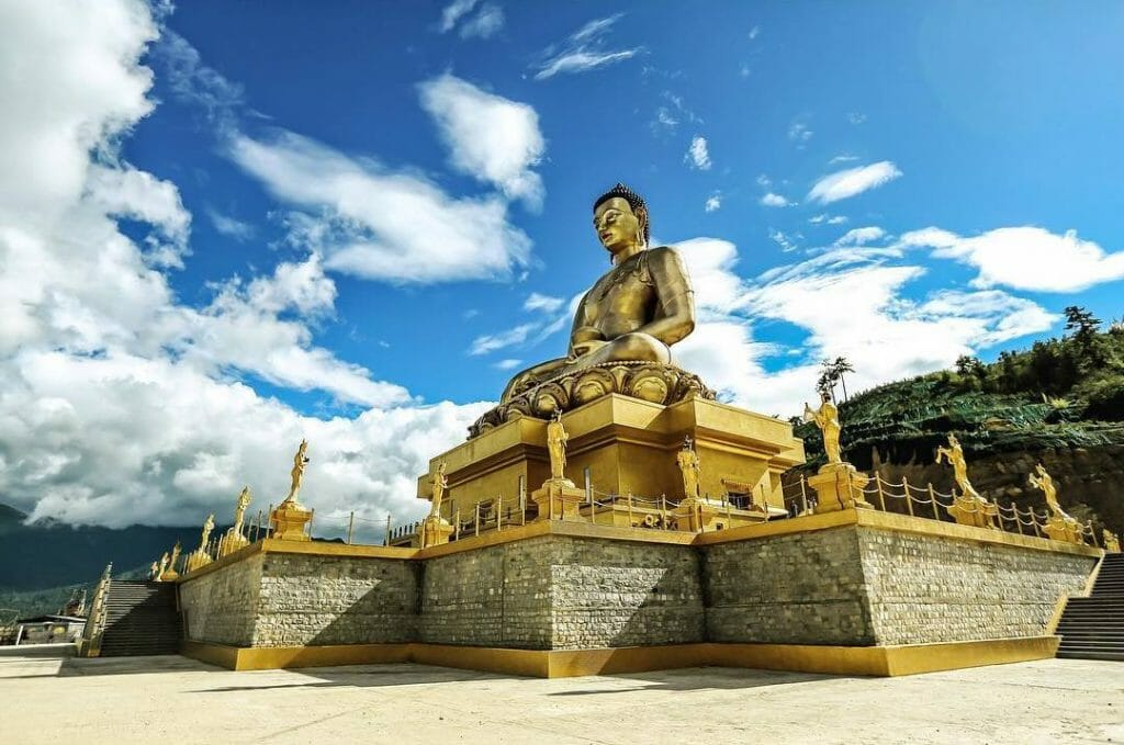 Great Buddha Dordenma Statue, Buddha Point, Thimphu Bhutan_Attractions_buddha dordenma_1