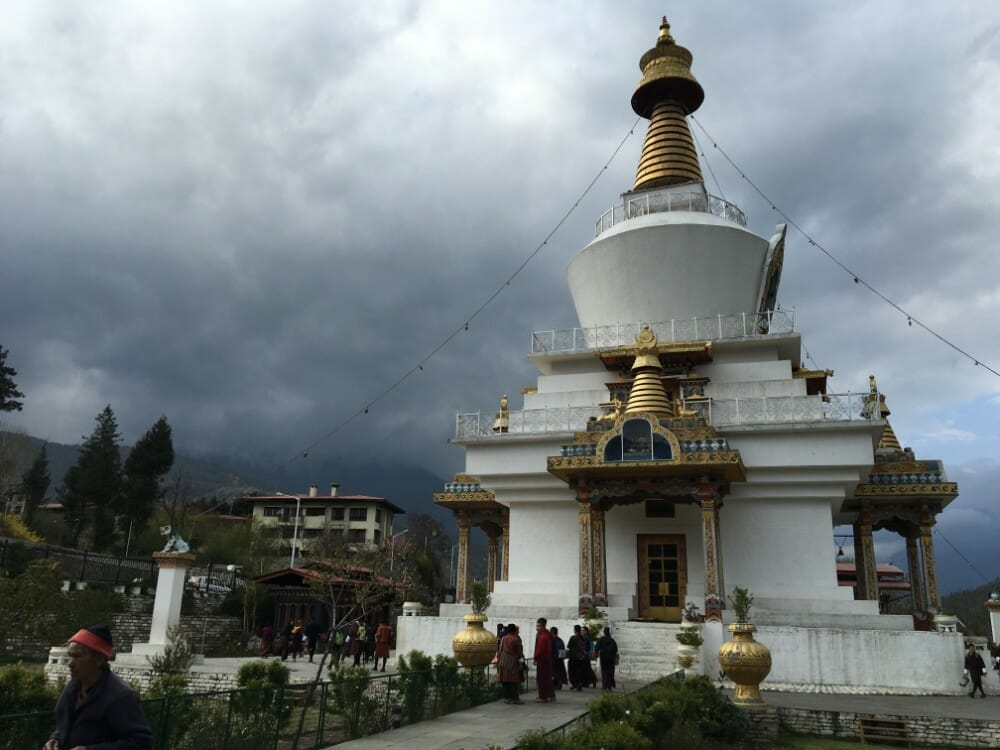 6 Nights Bhutan Vacation Package with Bumdra Trek_Memorial Chorten_Own pic