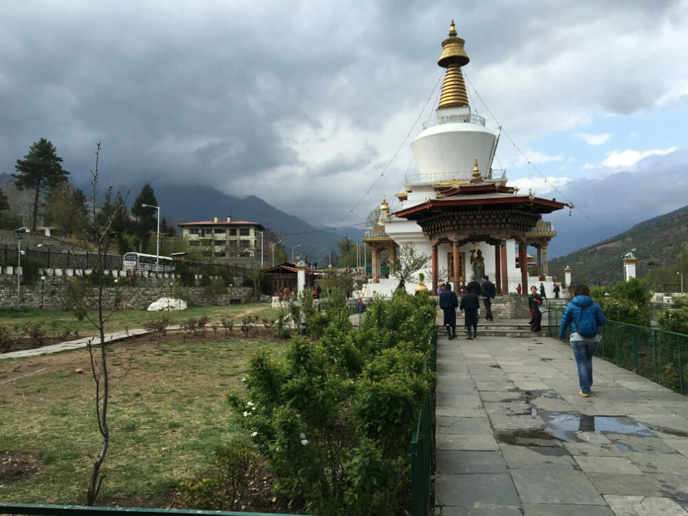 7 Nights western bhutan travel with Lungchutse Temple & Tango Monastery_D1_Memorial Chorten_own pic