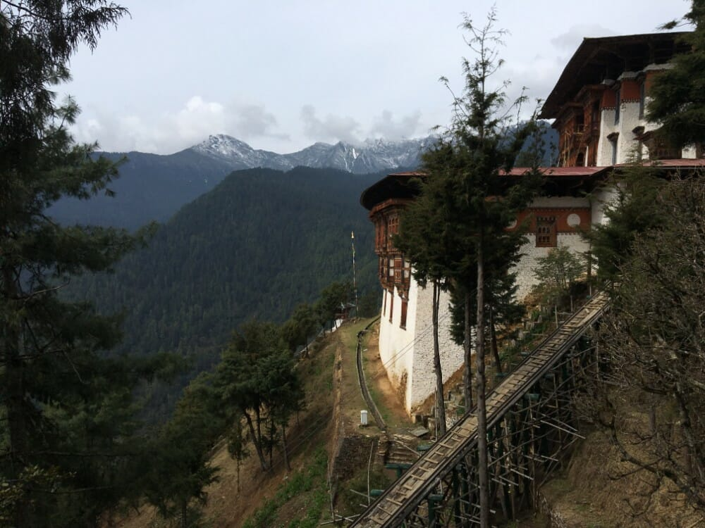 7 Nights western bhutan travel with Lungchutse Temple & Tango Monastery_D2_Tango Goemba_own pic