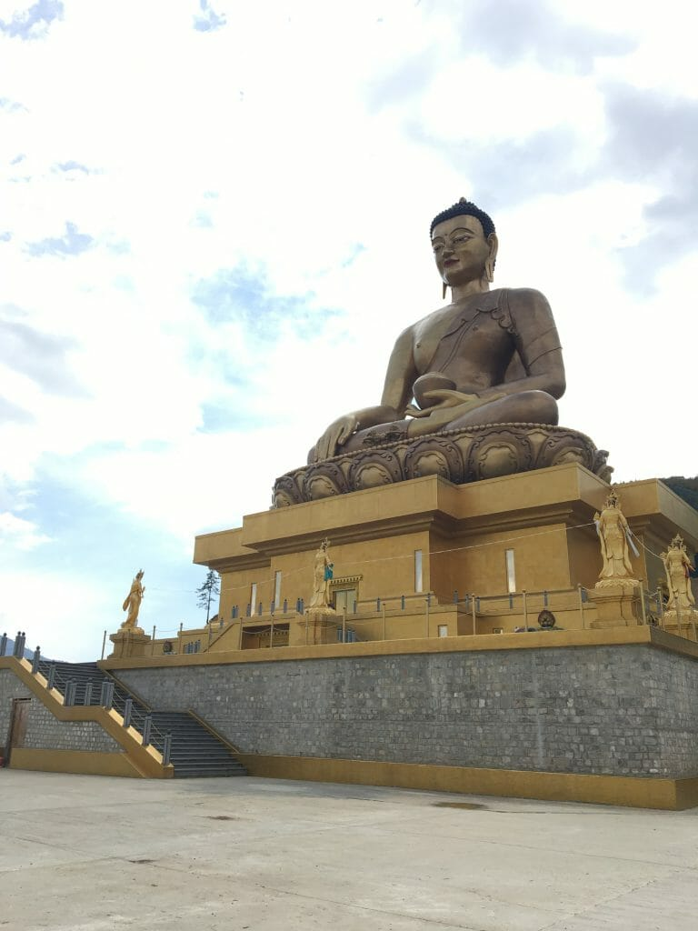 7 Days Bhutan Itinerary with Tiger's Nest Temple Trek_D3 Buddha Dordenma_own pic