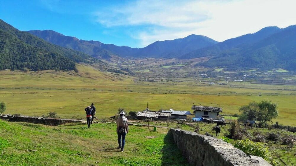 7 Nights western bhutan travel with Lungchutse Temple & Tango Monastery_D4_Gangtey_insta @zoozoolie