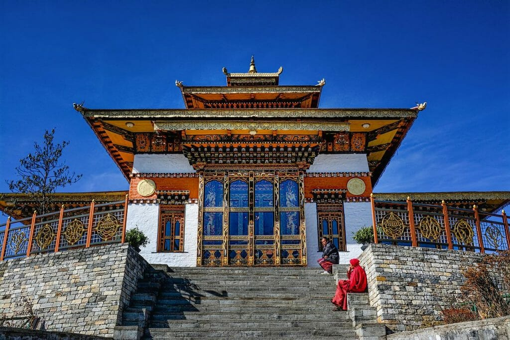 Dochula Pass Thimphu Bhutan – History, Temperature, Altitude, Facts_Druk_Wangyal_Lhakhang_Temple