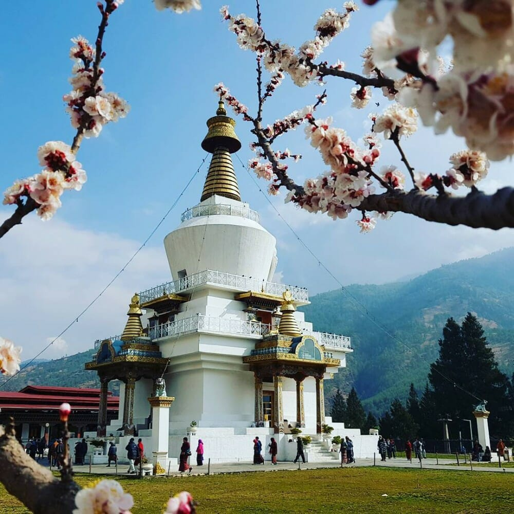 Places to visit in Thimphu. Where are Thimphu points of interest._Places_Thimphu_1_memorial chorten