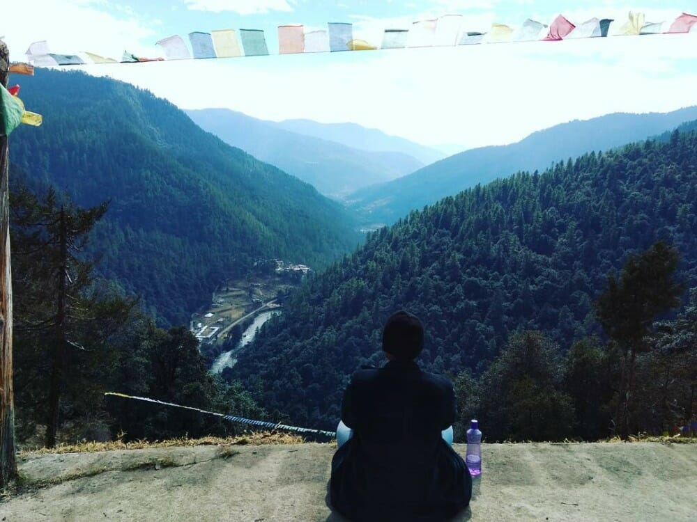 8 Nights Bhutan Trip Cost with Phobjikha Valley and Chele La Pass Haa_D2_Tango Monastery