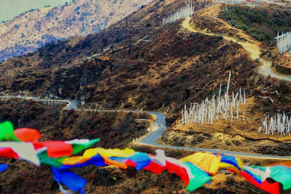 8 Nights Bhutan Trip Cost with Phobjikha Valley and Chele La Pass Haa