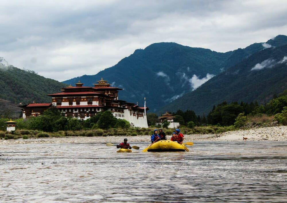 10 Days Central Bhutan Expedition with Bumthang and Trongsa_D7_Punakha rafting
