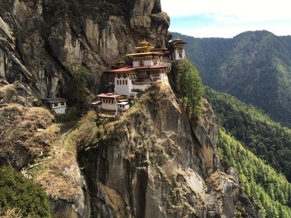 8 Nights Bhutan Trip Cost with Phobjikha Valley and Chele La Pass Haa_D8_Tiger's Nest