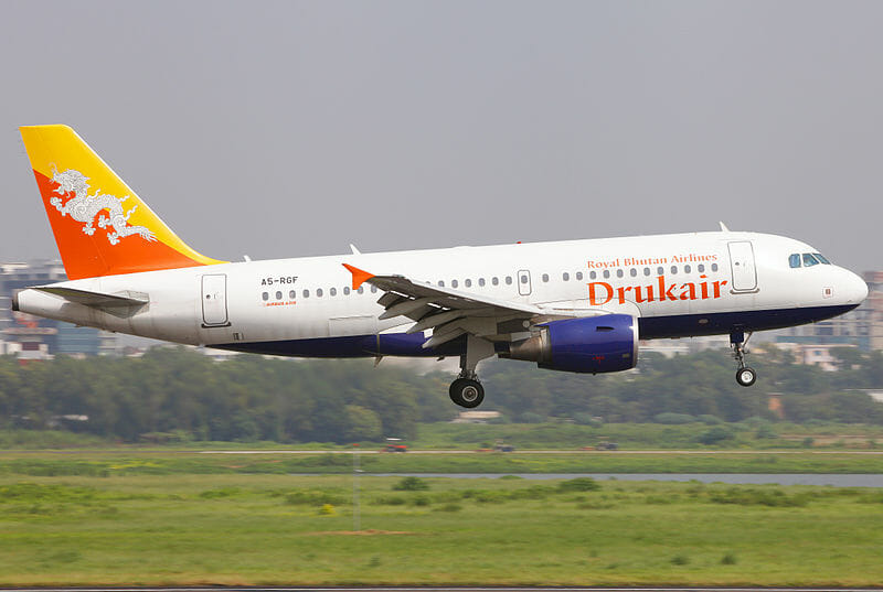 Drukair Flight Schedules & Destinations - Singapore, Thailand, India, Nepal Royal Bhutan Airlines